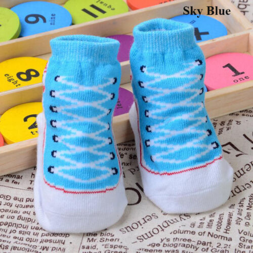Newborn Baby Infant Toddler Crib Shoes Boy Girls Cute Warm Soft Sole Shoes Socks