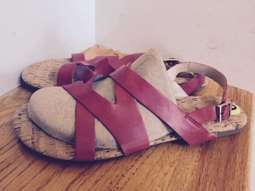 New Dolce Vita Sandals Size Condition 9M Red  Excellent Condition Size 586f05