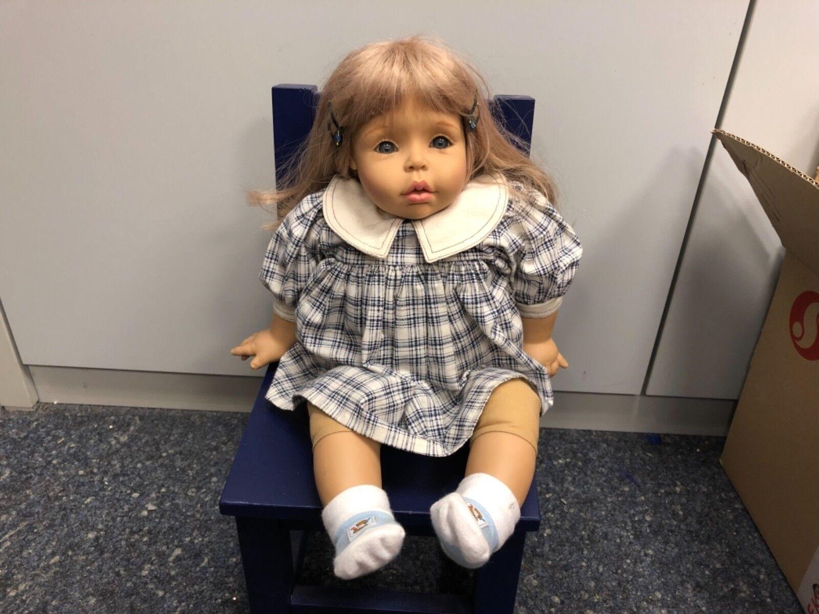 Götz artistas muñeca muñeca de vinilo 50 cm. top estado