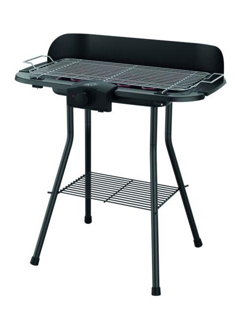 DCG BQS2497 2000W Barbeque Elettrico con Stand – Nero Offerte e sconti
