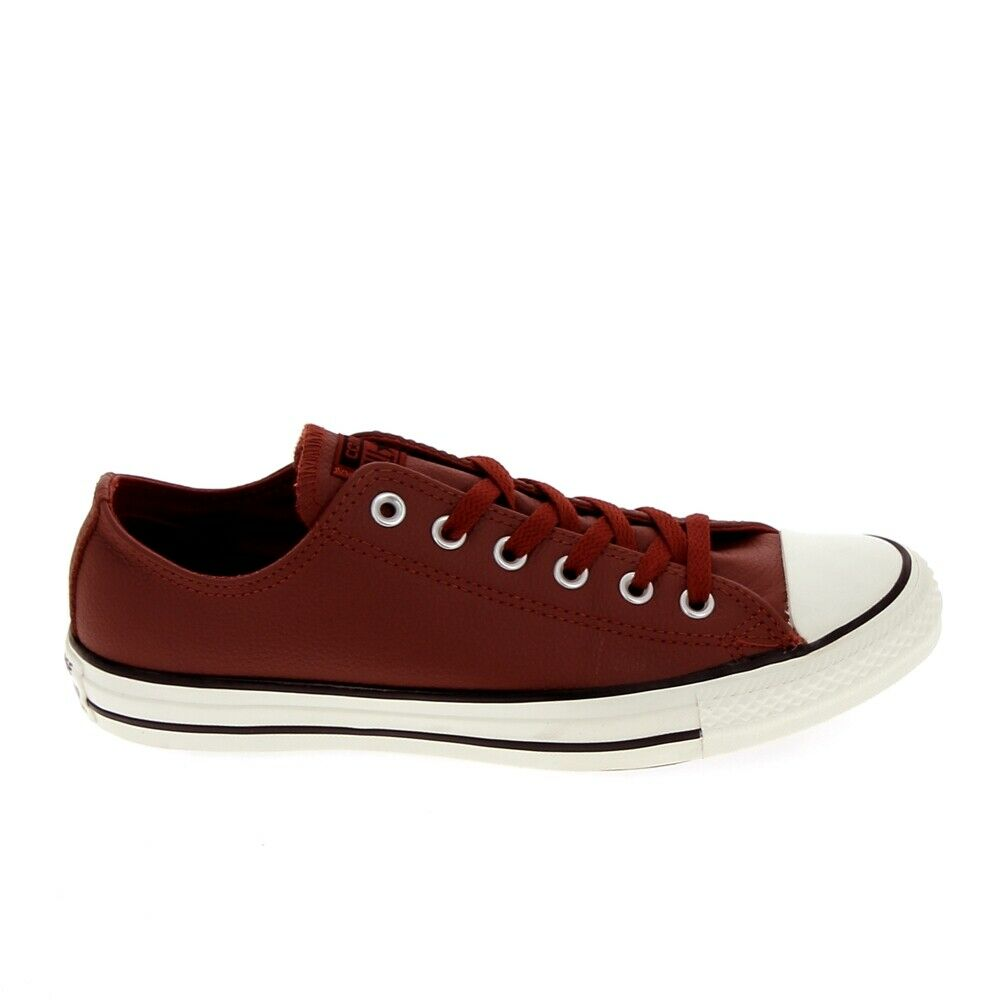 CONVERSE All Star B Cuir Rouge