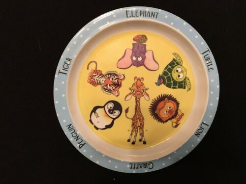 American Museum of Natural History Zoo Animals Plate