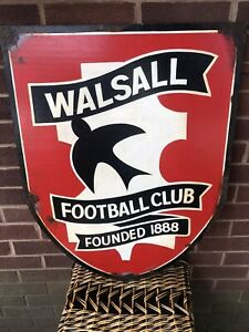 Antique Vintage Sign Advertising HAND PAINTED CLUBHOUSE WALSALL