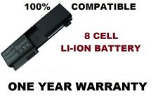 8 Cell Laptop Battery for HP Pavilion TX2000, TX2100, TX2500, TX2600 Series