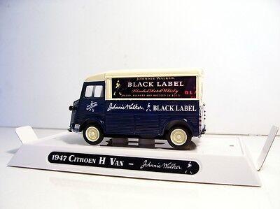 1947 Citroen Type H Van Custom Graphics Diecast Johnnie Walker Red Label Van