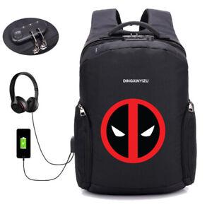 Backpack Usb Charging Student Book Bag