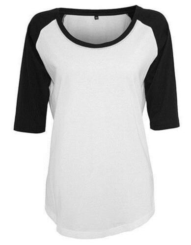 Ladies 3//4 Contrast Raglan Damen T-ShirtBuild Your Brand