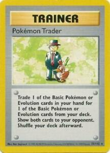 Pokemon Trader - 77/102 - Rare (Shadowless) PL Base Set Pokemon 2GQ