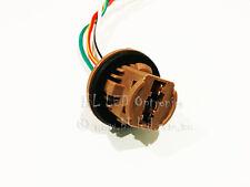 2x 7443 580 T20 Stop Tail Brake Socket Adapter Holder for Car Bulb Light Globe