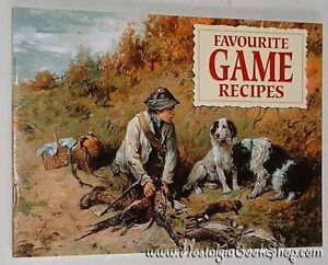 Favourite-Game-Recipes-Archibald-Thorburn-Paperback-Book-NEW