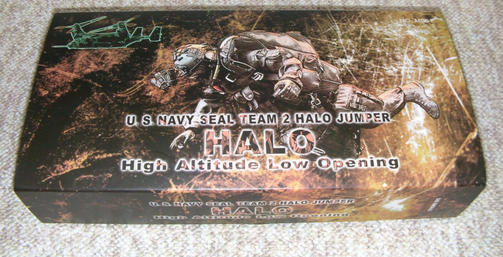 US NAVY SEAL 2 HALO JUMPER HIGH ALTITUDE LOW OPENING 1 6 FIGUR