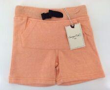 "Sovereign Code ""Burrow"" Toddler Boy Cotton Blend Shorts, Chance Orange Size 12 M"