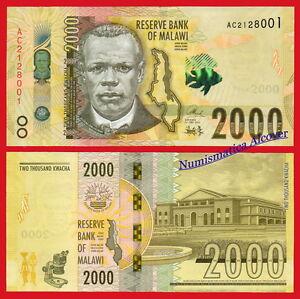 MALAWI-2000-Kwacha-2016-2017-Pick-NEW-SC-UNC