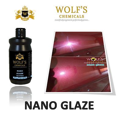 Wolf's Chemicals Nano Glaze Shine & Glaze - Polished Bliss 500ml