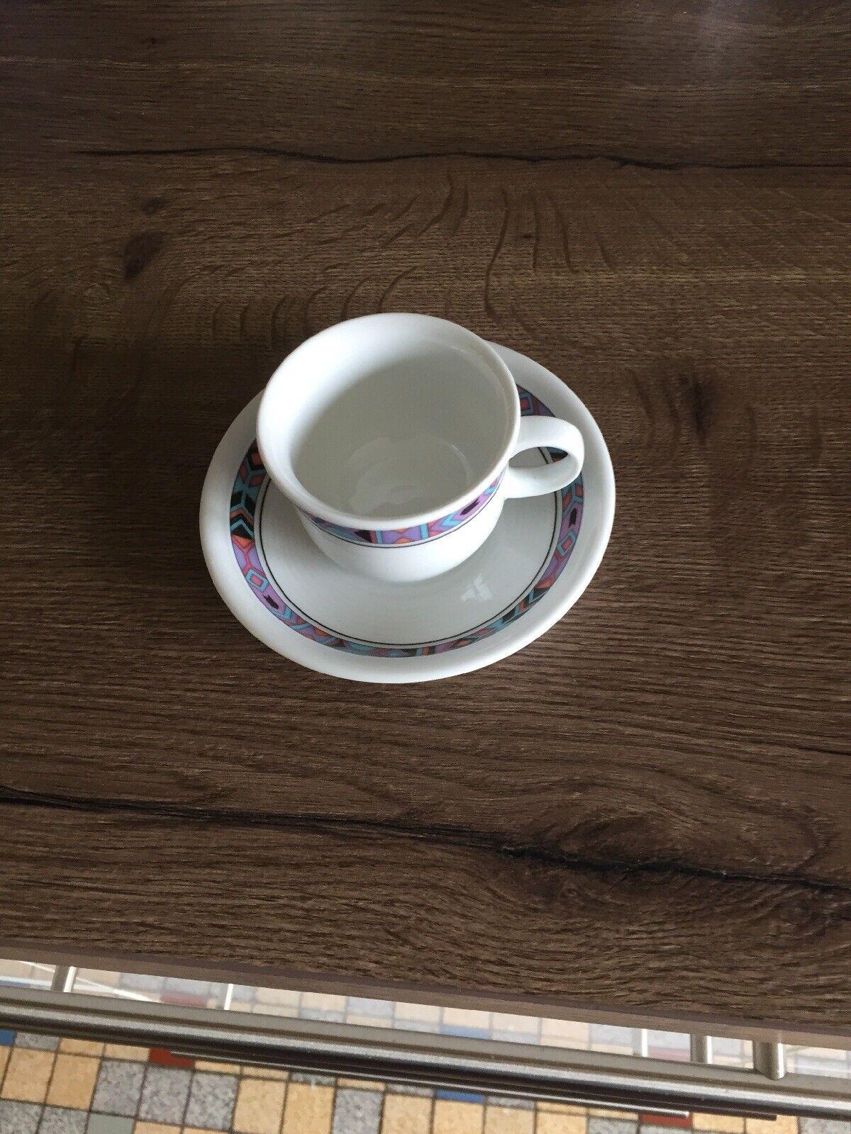 Thomas Trend Indiana-Espressotassen und Unterteller NEU 1 Stück
