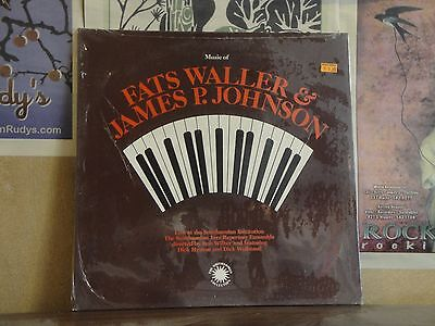 FATS WALLER JAMES P JOHNSON, MUSIC OF - SEALED LP N 021 | eBay