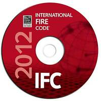 2012 International Fire Code-ifc-council Regulations Searchable Pdf Cd Ebook
