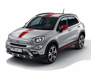 genuine fiat 500x red xtra pack decal kit - 71807427. clearance