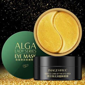 60pcs-Green-Seaweed-Collagen-Eye-Mask-Anti-Wrinkle-Gel-Pad-Dark-Circles-Removal