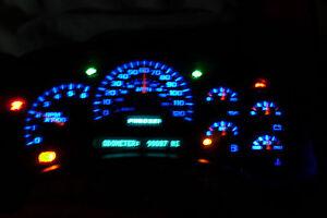 2003-06 YUKON SPEEDOMETER 10 BLUE LED UPGRADE KIT