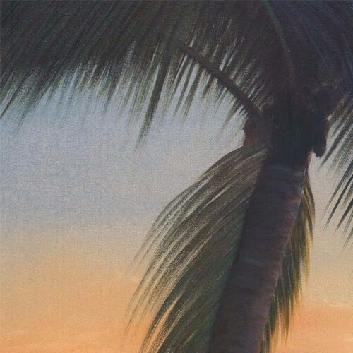 "40/""x30/"" GOLDEN SUNSET by DIANE ROMANELLO BEACHSIDE CANVAS"