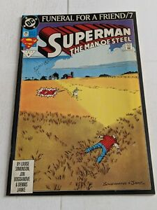 Superman-The-Man-Of-Steel-21-March-1993-DC-Comics-Funeral-For-A-Friend