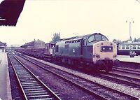 British Rail 37211 Hereford 6x4 inch Rail Photo