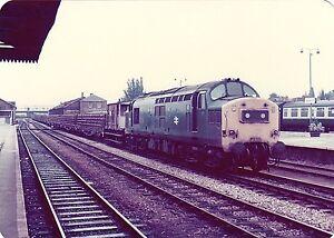 British-Rail-37211-Hereford-6x4-inch-Rail-Photo