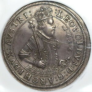 1626-NGC-XF-45-Austria-Taler-Hall-Mint-Silver-Thaler-Dav-3337-Coin-20021505C