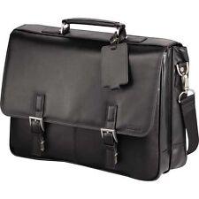 "Kenneth Cole  Leather 15.6"" Laptop Computer Business Messenger Bag"