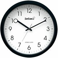 28900 Skyscan 14 Atomic Analog Wall Clock By Equity