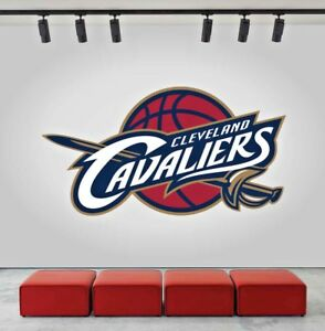 Image Is Loading Cleveland Cavaliers Logo Wall Decal Sports Window Sticker