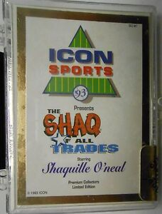 Shaquille-ONeal-1993-Icon-Sports-Shaq-Of-All-Trades-Gold-12-Card-Sealed-Set
