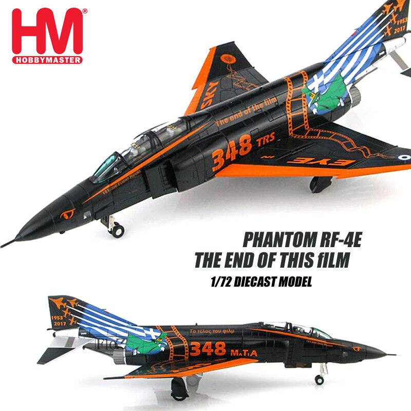 HM Hobby Master Phantom RF-4E al final de esta película 1/72 Diecast modelo de avión