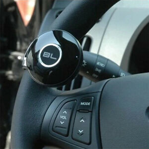 Universal-Car-Steering-Wheel-Grip-Control-Handle-Assist-Power-Spinner-Knob-Ba-SL
