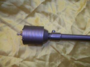 FRESA-A-TAZZA-60mm-CAROTATRICE-CON-ASTA-SDS-PLUS-65cm-CALCESTRUZZO-CEMENTO