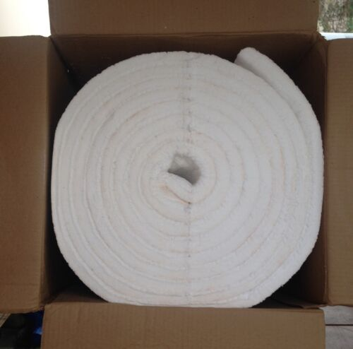 "Kaowool 1/""x6/""x24/"" Ceramic Fiber Insulation Blanket 8# Thermal Ceramics 2300F USA"