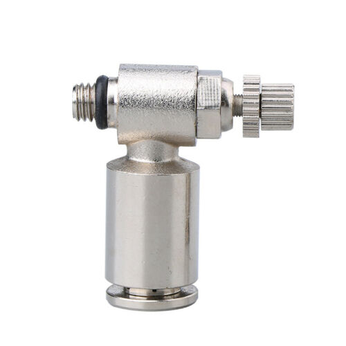 High Pressure Air Push in Fitting Pneumatic Flow Speed Control Valve Controller