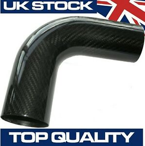 90-Degree-Carbon-Fibre-Pipe-63mm-OD-Real-Carbon-Fiber-Air-Intake-Induction