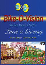 """Bike-O-Vision Cycling Video """"Paris & Giverny, France"""" Widescreen"""