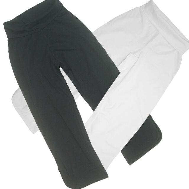 Culotte Weite Hosenbeine SHIRTHOSE HOSE Casual & STRAND schwarz weiß Gr.32 34 XS