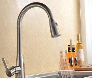 Detalles de ACERO INOX Grifería lavabo para cocina lavabo MESA Fregadero  spülbeckenarmatur