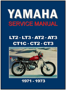 Details about YAMAHA Workshop Manual LT2 LT3 CT1 CT2 CT3 AT1 AT2 AT3 on