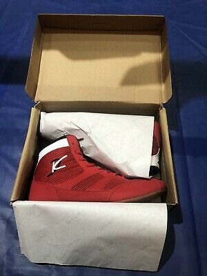 Red Day Kay Size 4.5 To 11 Lightweight Wrestling Kickboxing MMA Boxing Shoes