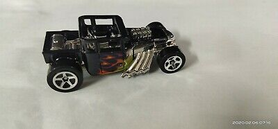 HOT WHEELS 2011 BONE SHAKER FLAMES SUPER RARE WITHOUT RAT RACE TRANSPORTER RIG