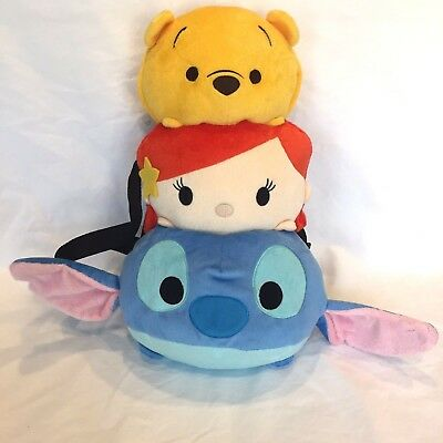 "NWT Disney Winnie the Pooh Plush Bag Backpack 15/""-Licensed Goods"