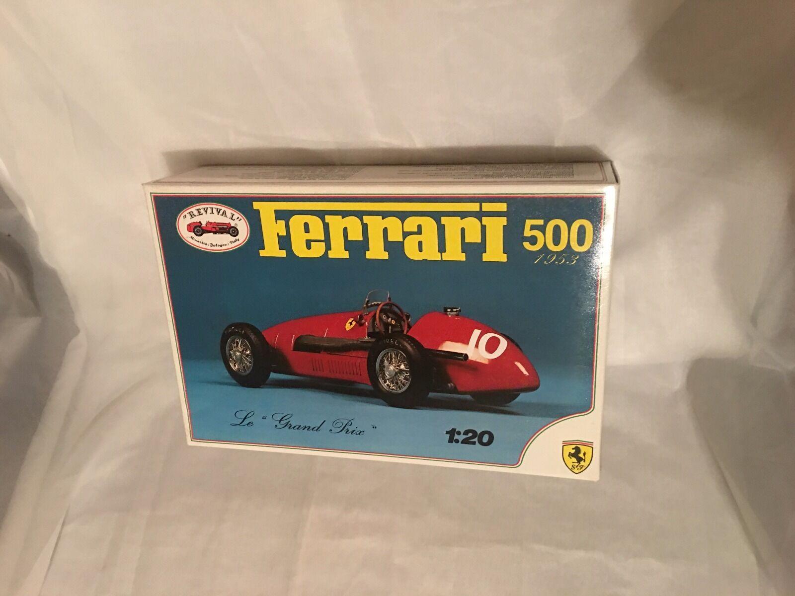 suministro de productos de calidad 'revival' 'revival' 'revival' Ferrari 500 1953  este es Clásico Ferrari  nuevo, menta, Vintage,  venta mundialmente famosa en línea