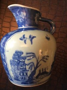 CHINESE Antique Vase, with stamp , H22cm L49cm Foot L40 cm Neck L18 cm