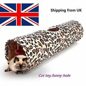 Foldable-Leopard-Print-Pet-Supplies-Kitten-1-hole-Cat-Tunnel-Toy-f-households