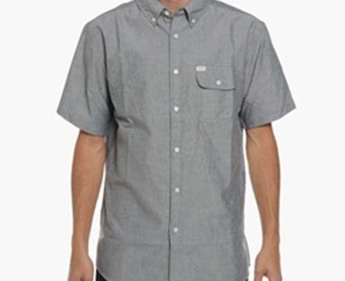 MATIX Eli Oxford Woven Shirt (L) Sage